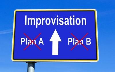 Si no planeas prepárate para improvisar